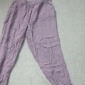 Girls floral pants